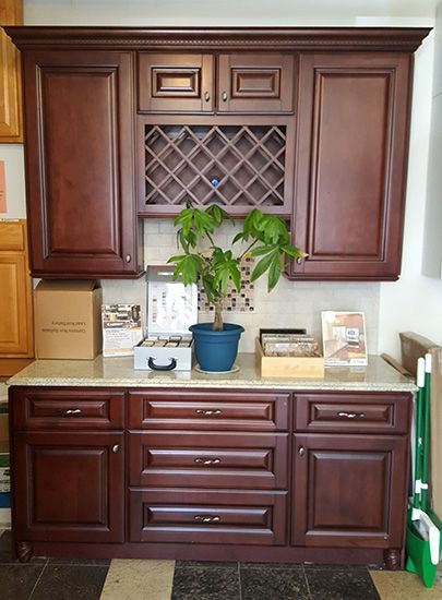 Pacifica Kitchen Cabinet Display