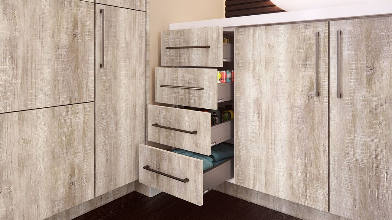 Rivera Conch Shell Kitchen Cabinets