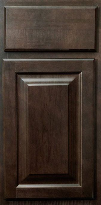 Saginaw Dark Sable Kitchen Cabinets