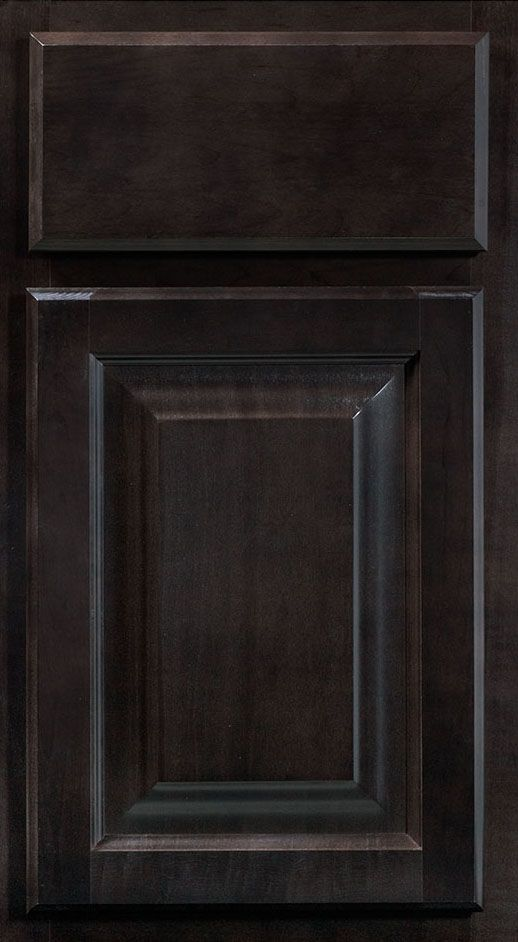 Saginaw Dark Sable Small Sample Door