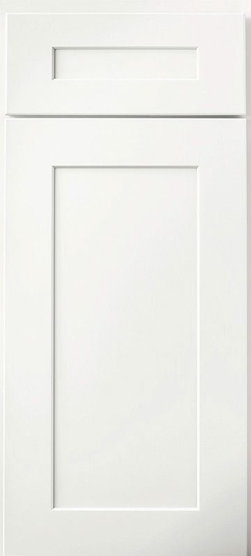 Dartmouth 5-Piece White Small Sample Door