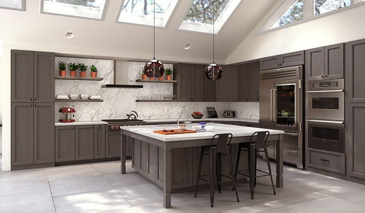 Townsquare Grey Kitchen Cabinets