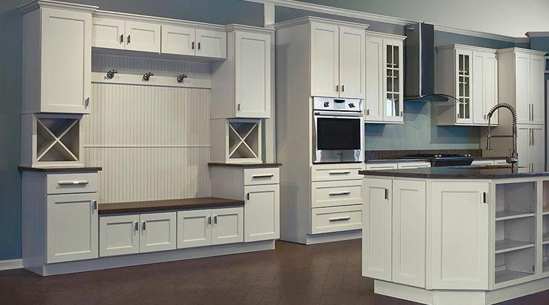 Trenton Slab Kitchen Cabinets