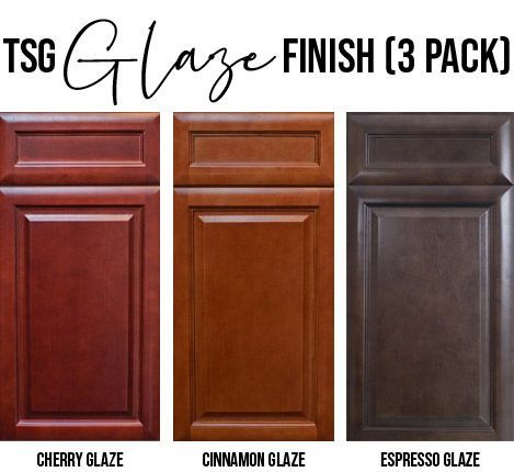 TSG 3 Pack: Glaze Sample Doors