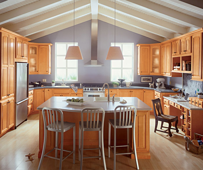 Pictures Of Kitchens With Maple Cabinets: Windham Maple Kitchen Cabinets