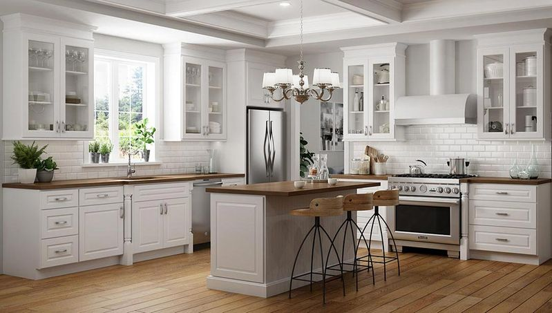 Yarmouth Raised Kitchen Cabinets