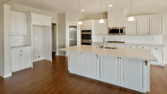 Yarmouth Slab Kitchen Cabinets