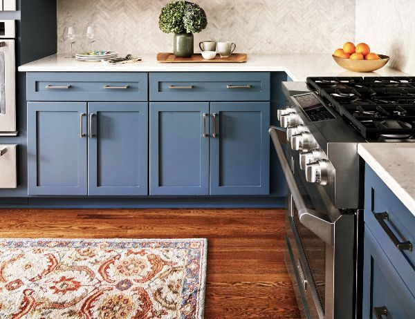 York Bayside Paint Kitchen Cabinets
