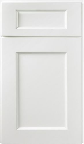 York White Paint Small Sample Door