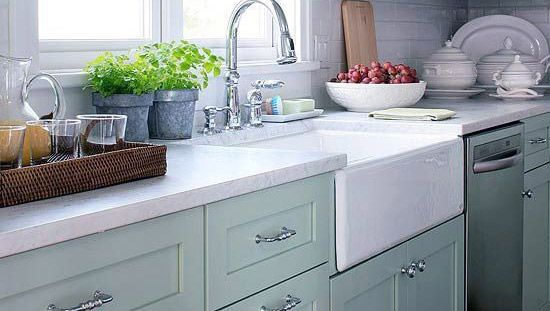 York Seabreeze Paint Kitchen Cabinets