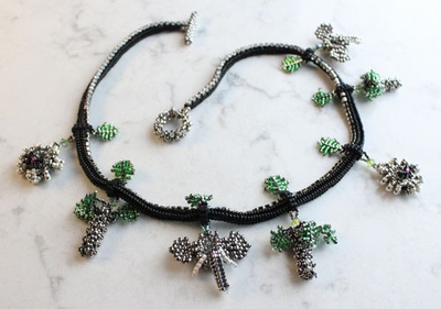 """NEW! """"It's a Jungle Out There"""" Necklace Workshop"""