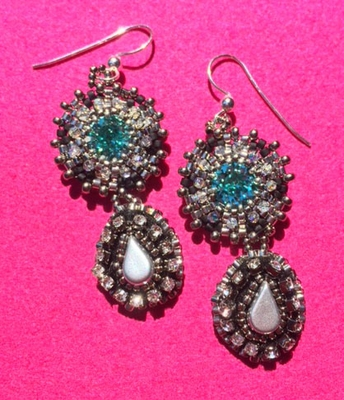 "NEW! ""Decadent Earrings"" Beading Kit"