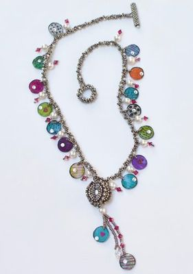 """NEW! """"From Another World"""" Necklace"""
