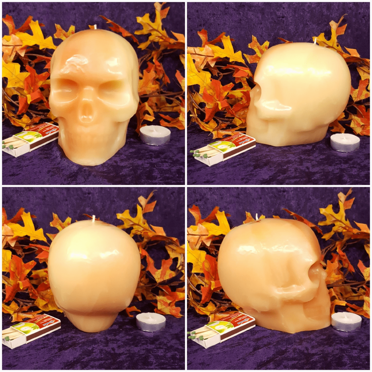 Large Skull Solid Ivory