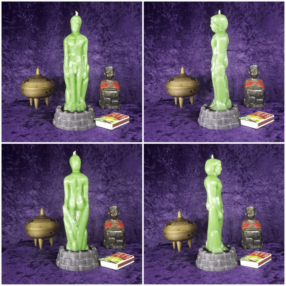 Spell/Meditation Candle Male