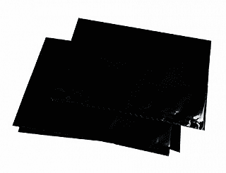 "25 Light Proof Black Bags for 8"" x 10"""