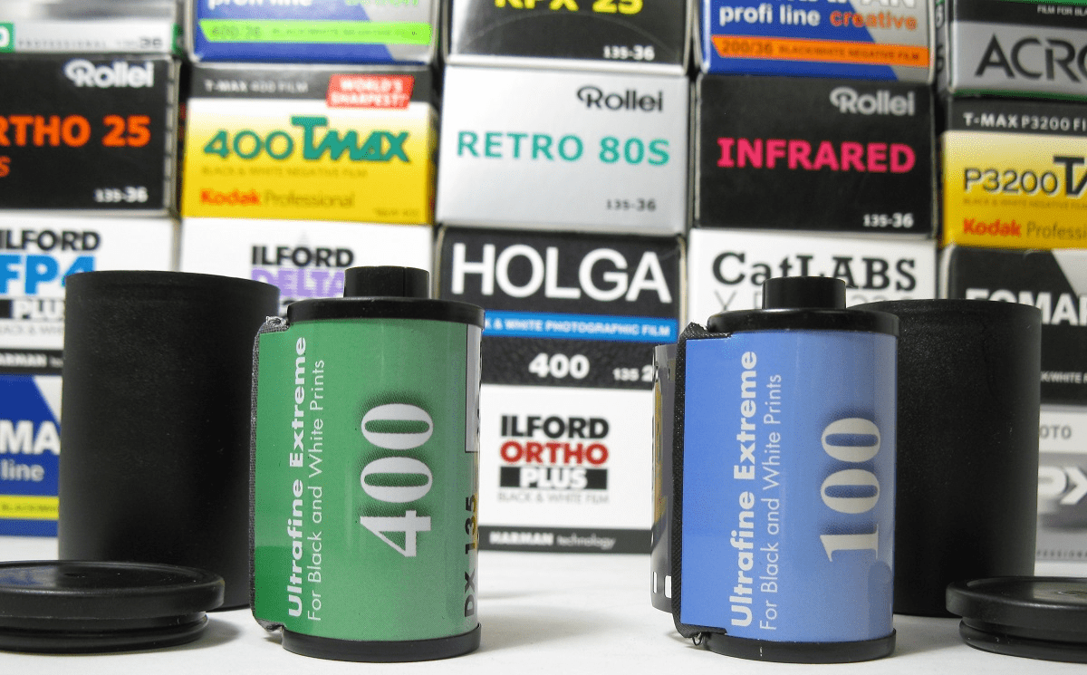 35 mm Black and White Film Collection Photo Warehouse