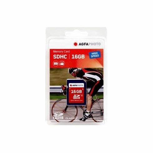 Agfa 16GB Secure Digital SD HC Memory Card