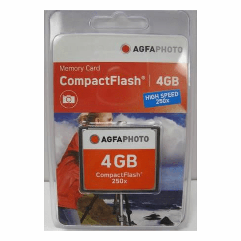 Agfa 4gb Compact Flash Card 250x