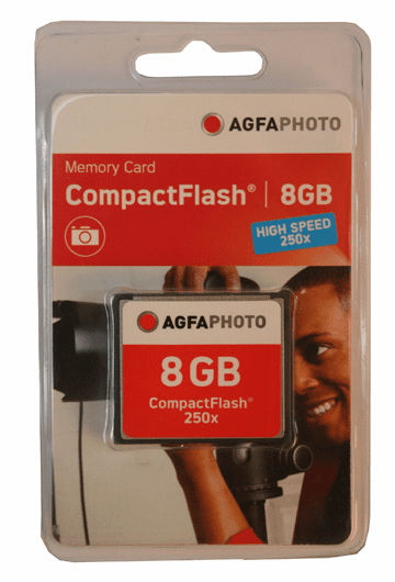 Agfa 8gb Compact Flash Card