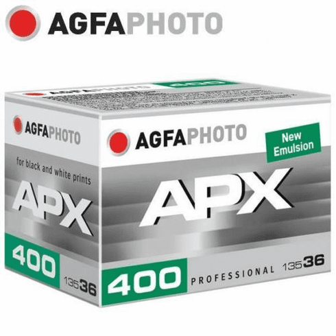 Agfa Agfapan APX 400 B & W Film 35mm x 36 Exposure