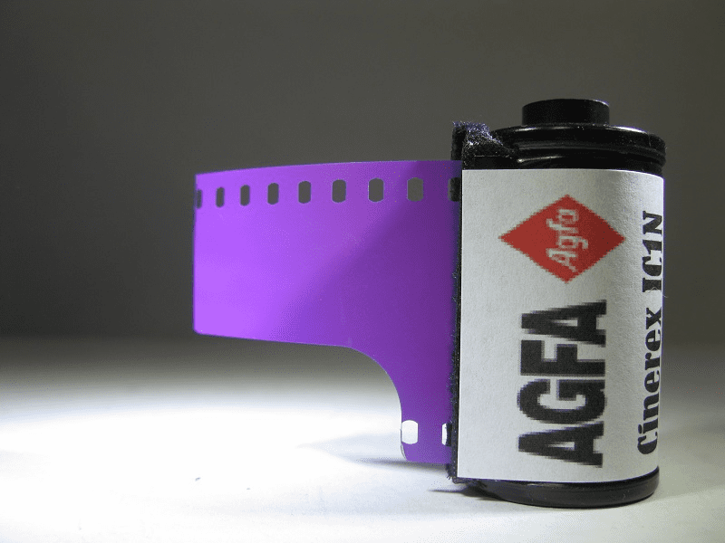 Agfa Cinerex IC1N 35mm Orthochromatic B&W film, 50 ISO 35mm x 36 Exp