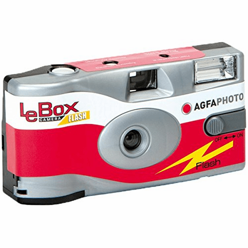 Agfa Photo LeBox 400 Disposable Camera with Flash 27 Exposures