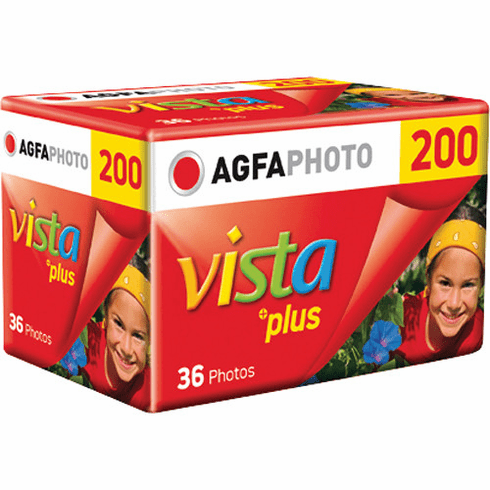 Agfa Vista Plus 200 36 Exposure