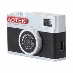 Aotek A8 Mini Retro 5MP Digital DV Camera (Chobi CAM) Little Leica