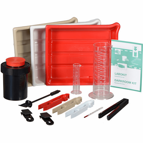 AP Labokit Darkroom Film & Paper Developing 14 Piece Kit