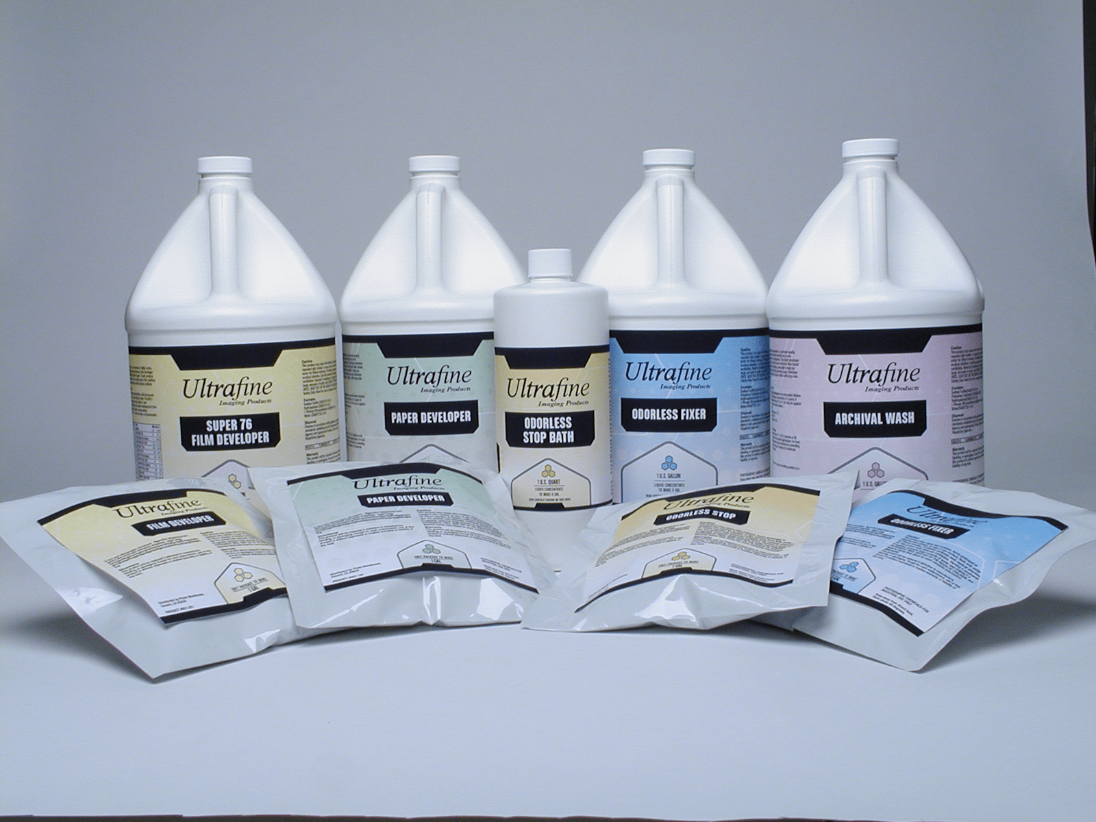 Black-and-White Photo Chemicals