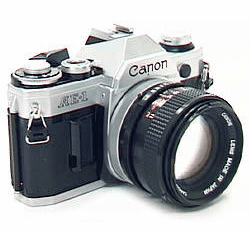 Canon AE-1 35mm Camera with 50mm Lens- Student Camera - Used