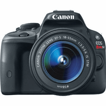 Canon EOS Digital Rebel SL1 with 18-55mm IS STM