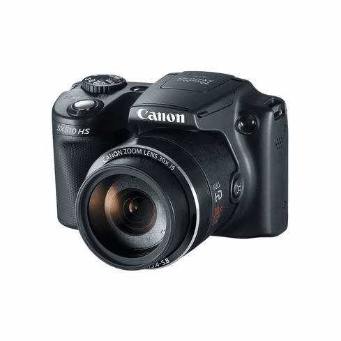 Canon Powershot SX510 HSCamera Black - Refurbished