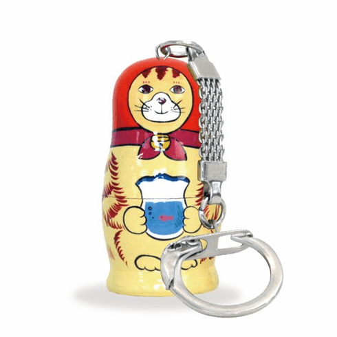 Cat Mato Keychain Matryoshka Russia Key Chain-superheadz