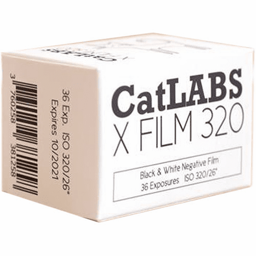 CatLABS X Film 320 Black and White Negative Film 35mm x 36 Exp