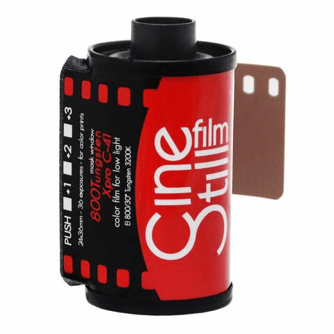 Cinestill 800Tungsten Xpro C-41 Color Negative Film 35mm x 36 Exp Film