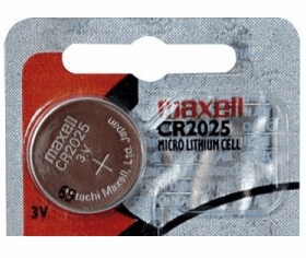 CR2025 Maxell 3V Lithium Coin Cell Button Batteries