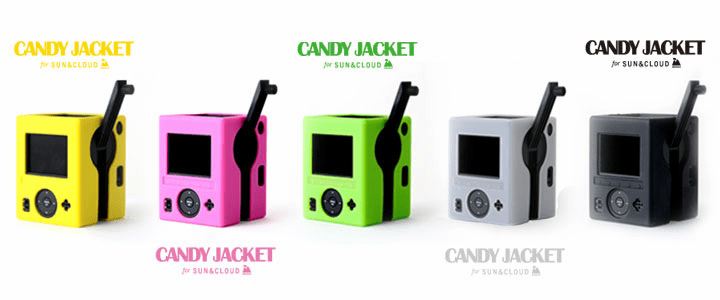 Custom Silicone Candy Jackets for Superheadz Sun & Cloud Camera