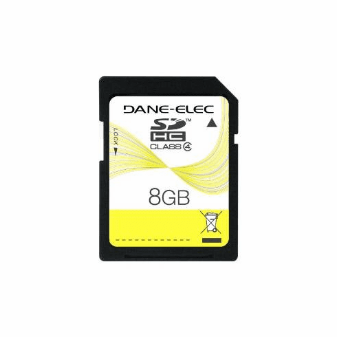 Dane-Elec 8GB Ultra High Speed SD Memory Card