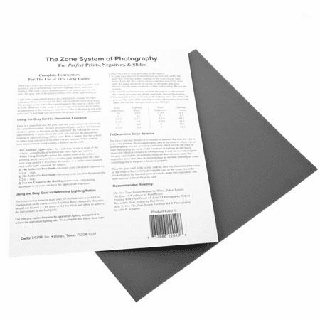 Delta CPM 1 Gray Cards 8 in. x 10 in.