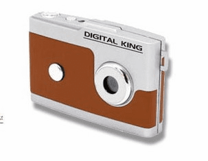 Digital King Digital Camera with BONUS Fisheye Lens Toy Digi King Gizmon Half D Camera