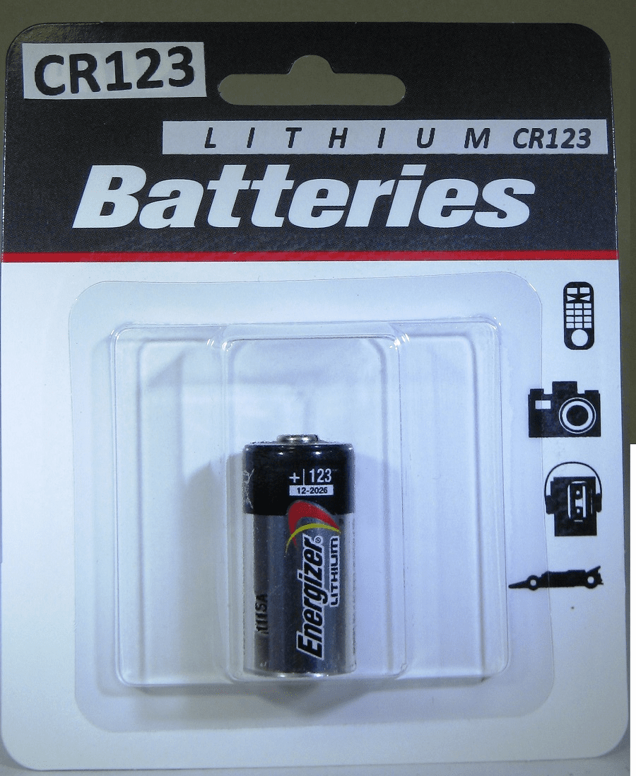 Energizer Lithium CR123 Battery