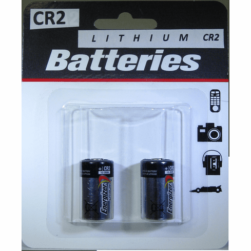Energizer Lithium CR2 Battery 3V - 2 Pack