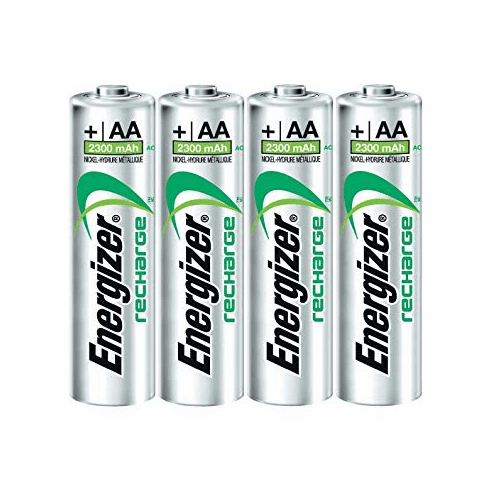 Energizer Recharge Power Plus AA 2300 mAh Rechargeable Batteries