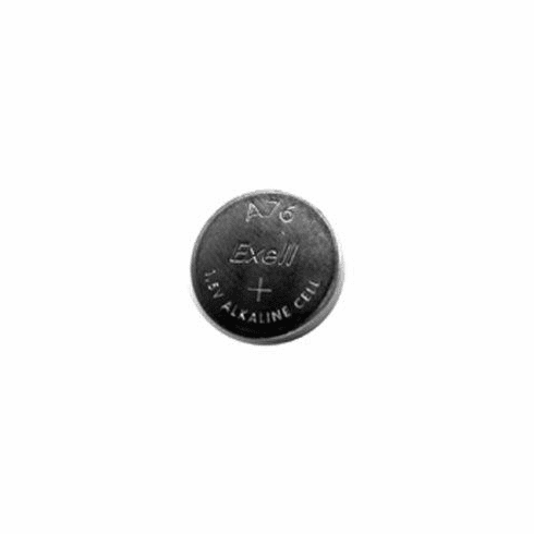 Exell A76PX Alkaline 1.5V Button Cell Battery