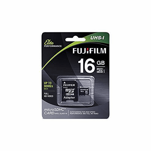 Fuji 16GB Micro SD Digital Memory Secure Digital Cards