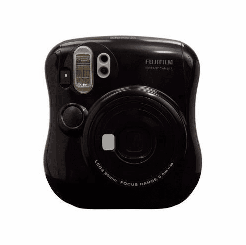 Fuji Instax Mini 25 Camera Soul Black