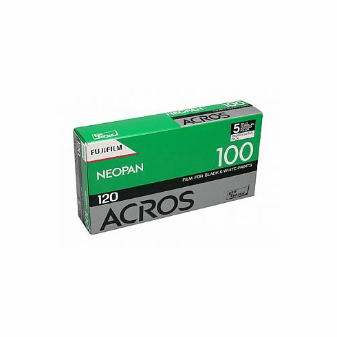 Fuji Neopan Acros 100 120 Black and White Film  - 5 Pack