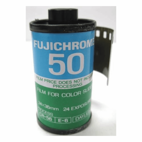 Fujichrome ISO 50 RF 135-24 Exposure